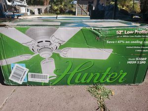 $50 HUNTER CEILING FAN for Sale in Las Vegas, NV