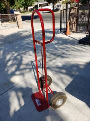 MILWAUKEE RED DOLLY WITH INFLATED RUBBER TIRES IN GREAT CONDITION LIKE NEW for Sale in Chino, CA
