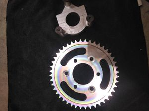Hub adapter and 44 tooth sprocket for Sale in OLD RVR-WNFRE, TX