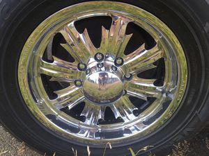 "18"" Weld Evo wheels for Sale in Wenatchee, WA"