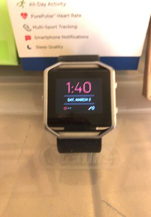 Fitbit blaze with box for Sale in Raleigh, NC