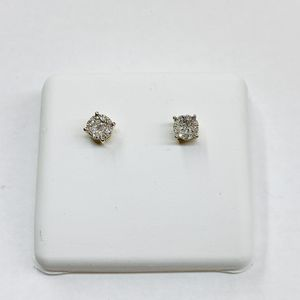 10K Gold & Diamond Earrings for Sale in Indianapolis, IN