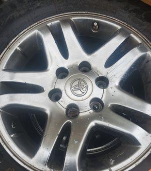 3 Toyota WHEELS 6lug for Sale in Rogers, AR