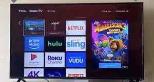 "TCL 65"" 4K UHD LED Roku Smart TV HDR for Sale in Tulsa, OK"