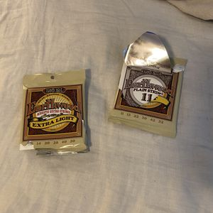 Ernie Ball guitar strings missing low E string for Sale in Hawthorne, CA