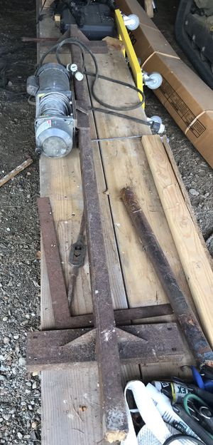 Winch Assembly with steel mounting bracket for Sale in PILESGRV Township, NJ