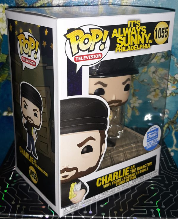 Funko Pop - Charlie as The Director Funkoshop Exclusive