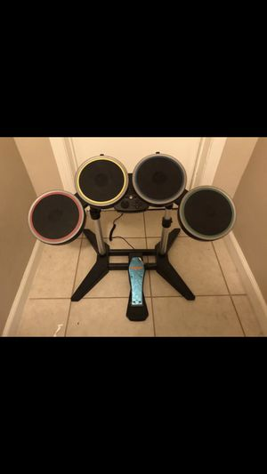 Rock Band PlayStation drums for Sale in Bakersfield, CA
