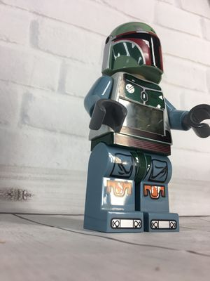 """LEGO Star Wars StormTrooper """"BOBA FETT"""" Alarm Clock w/ light & Sound Tested RARE for Sale in Albany, NY"""