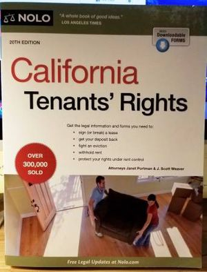 Tenants rights 20th edition for Sale in Irvine, CA