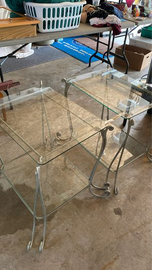Glass and tables for Sale in Tomahawk, WI