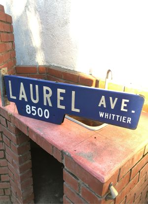 Porcelain street sign for Sale in Pico Rivera, CA