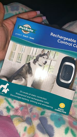 rechargeable bark control collar . for Sale in Columbus, OH