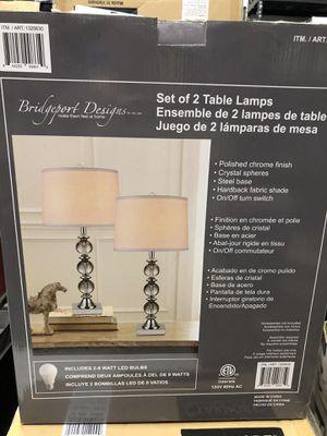 Bridgeport Designs Set of 2 Table Lamps for Sale in Pompano Beach, FL
