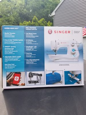 Singer 3337 29 stitch sewing machine brand new for Sale in Stamford, CT