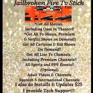 Jailbroken Fire Tv Sticks for Sale in Clovis, CA