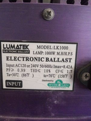 Electronic Ballast for Sale in Perris, CA