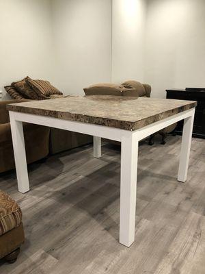 Granite table w/ 6 chairs for Sale in Benjamin, UT