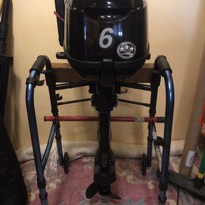 6HP 4-Stroke Tohatsu Outboard Motor for Sale in Lynnwood, WA