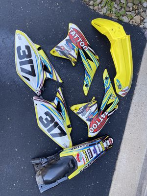 2010-2013 RMZ 250 Plastic Set for Sale in Pittsburgh, PA