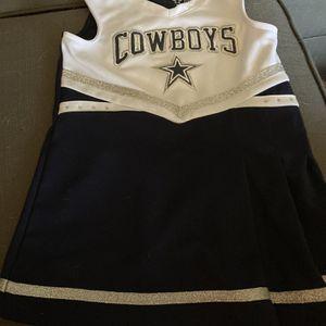 NFL Dallas Cowboy Sz 4T Cheerleader Costume for Sale in Fort Lauderdale, FL