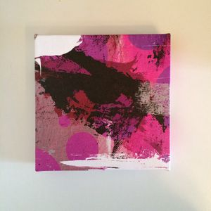 Pink print canvas for Sale in Miami, FL