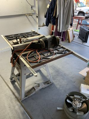 Table / bench saw for Sale in North Las Vegas, NV