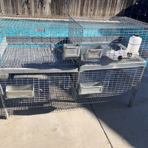 Rabbit Cage Size In Pictures for Sale in Stockton, CA