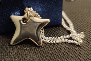 Sterling Silver 28-in Chain With Star Pendant for Sale in Wichita, KS