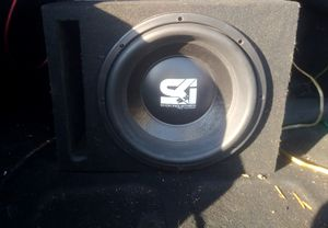 Shok industries 12 inch sub for Sale in Long Beach, CA