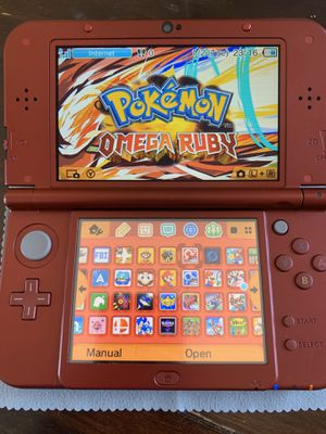Nintendo new 3DS xl modded with many games and more for Sale in Irvine, CA