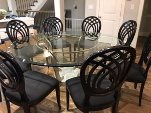 Glass Dining Table for Sale in Houston, TX