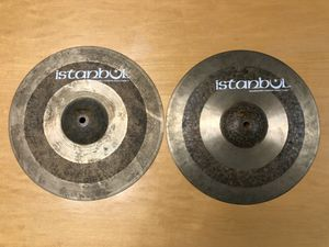 """Istanbul 13"""" Sultan HiHats, autographed by Mehmet & Agop for Sale in Troutdale, OR"""