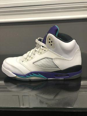 Jordan 5 grape size 6Y for Sale in Montebello, CA