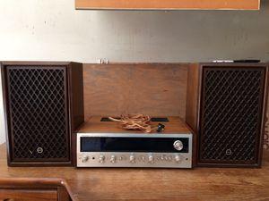 1976 Pioneer 170 watt receiver with Sansui speakers for Sale in Hayward, CA