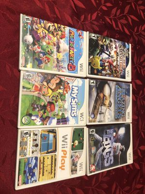 Wii Games Bundle for Sale in Moreno Valley, CA