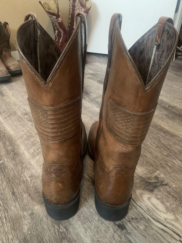 Ladies Ariat American Flag boots