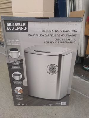 Motion sensor trash can 12 gallons brand new for Sale in San Diego, CA