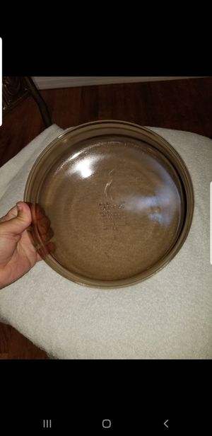 "2 vintage 9"" pyrex pie pans for Sale in Stockton, CA"