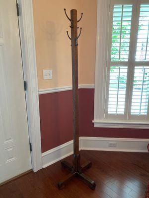 Wooden coat rack for Sale in Elmira, NY