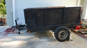 Dump trailer 5'x 8' for Sale in Los Angeles, CA