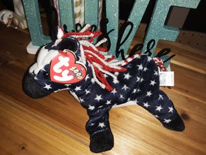 Lefty the donkey ty beanie baby 2000 for Sale in Summerville, SC