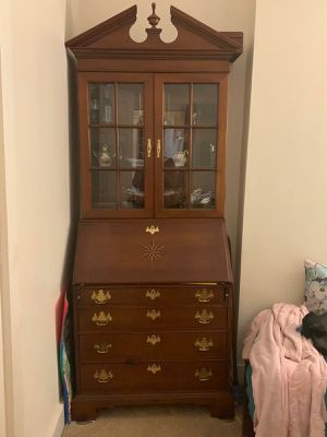 Antique desk very good condition for Sale in Derby, CT