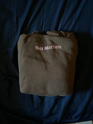 You Matter Hoodie Brown/Pink for Sale in Cleveland, OH