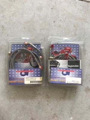 Kawasaki ZX12 brake lines for Sale in Jacksonville, FL