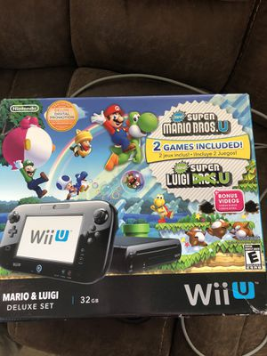 Nintendo Wii U 32gb for Sale in Tomball, TX