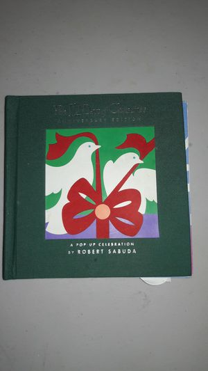 The 12 days of Christmas pop up book for Sale in San Antonio, TX
