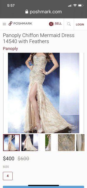 Panoply Chiffon mermaid dress for Sale in Phoenix, AZ