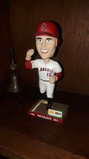 MIK SALMON CALIFORNIA ANGELS #15 CHEVY BOBBLEHEAD for Sale in Wilmington, CA