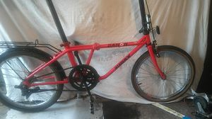 Dahon getaway folding bike . This bike is single speed and really adjustable so will fit short to tall ! for Sale in Saint Helens, OR